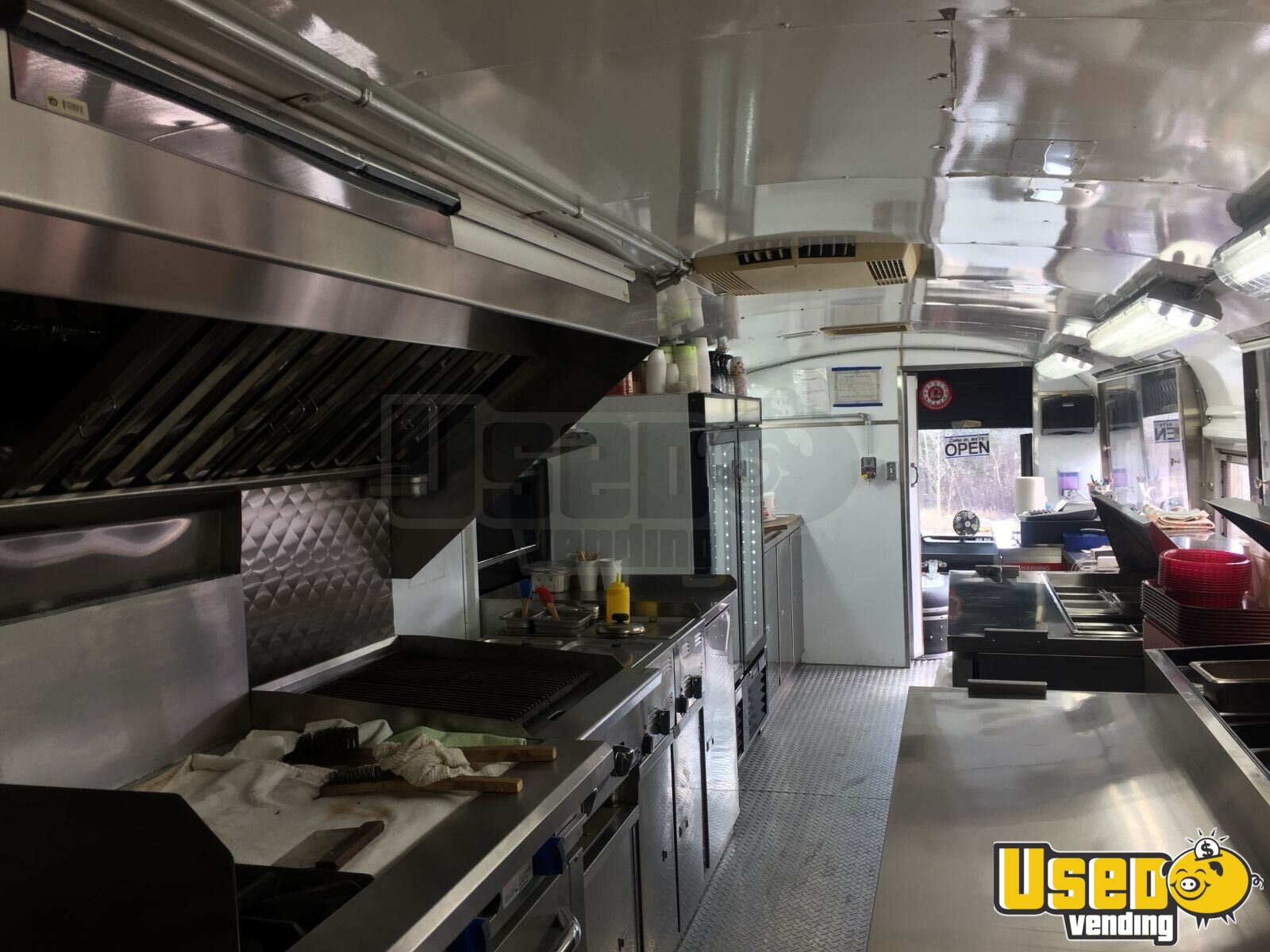 1976 Bluebird All-purpose Food Truck Microwave Yukon Territory Gas Engine for Sale - 20
