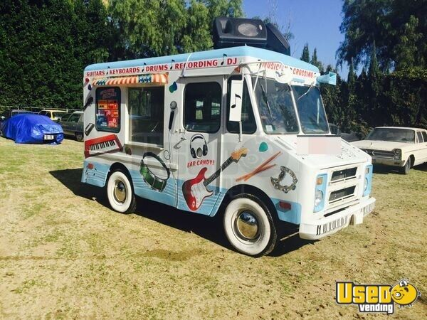 Ice Cream Trucks For Sale >> Chevy Ice Cream Truck For Sale In California