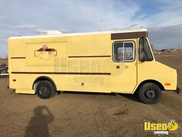 1978 Chevrolet Food Truck Colorado Gas Engine for Sale