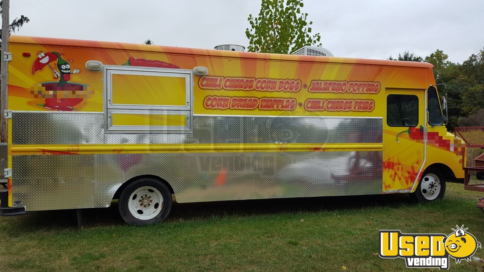 1979 Chevy P 30 All-purpose Food Truck Air Conditioning Michigan Diesel Engine for Sale - 2