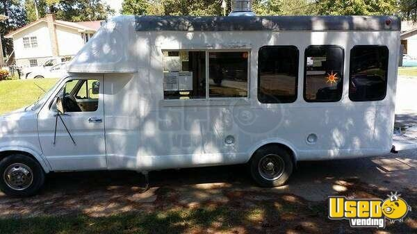 ford mobile kitchen food truck lunch truck for sale in georgia. Black Bedroom Furniture Sets. Home Design Ideas