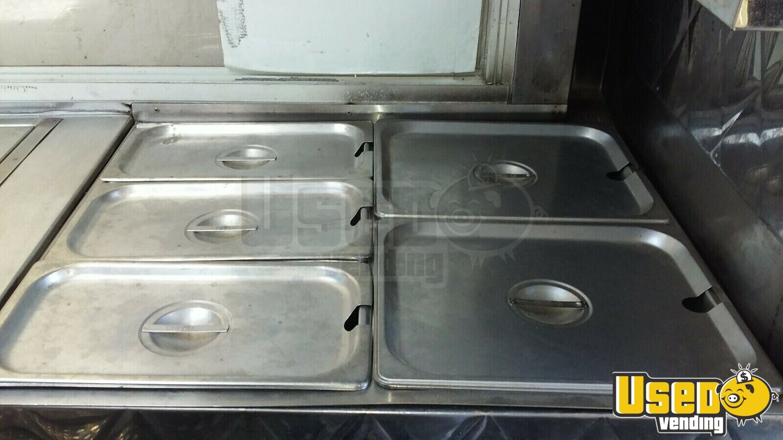1981 350 Step Van Kitchen Food Truck All-purpose Food Truck Prep Station Cooler New Jersey for Sale - 9
