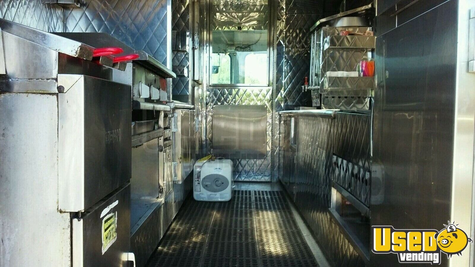 1981 Chevrolet 350 All-purpose Food Truck Stainless Steel Wall Covers New Jersey for Sale - 3