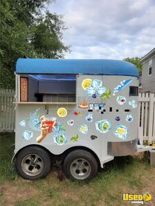 1982 2h Mobile Bar Trailer Beverage - Coffee Trailer Concession Window North Carolina for Sale