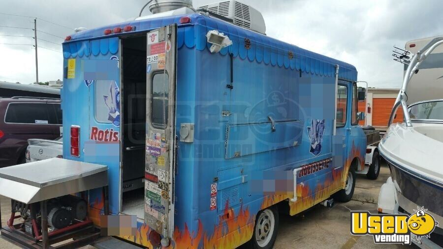 1982 Chevy All-purpose Food Truck Stainless Steel Wall Covers Texas Gas Engine for Sale - 3