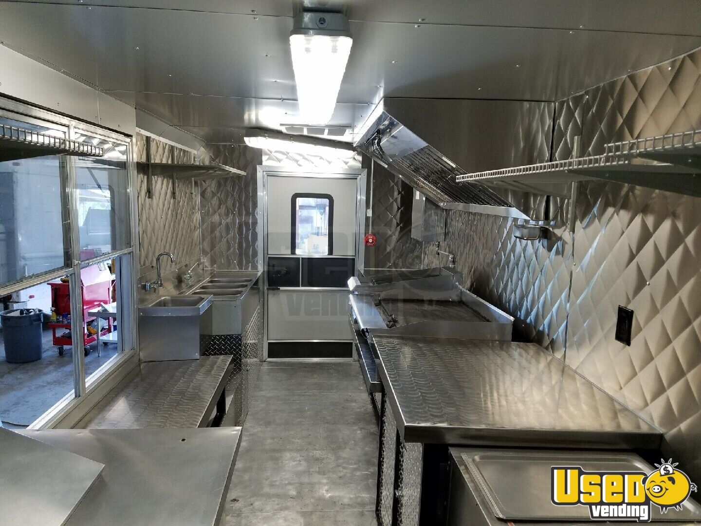 1983 Gruman-olson Step-van All-purpose Food Truck Insulated Walls Florida Gas Engine for Sale - 6