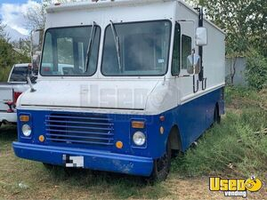 1983 Grumman Olson P30 Food Truck All-purpose Food Truck Stainless Steel Wall Covers Texas for Sale