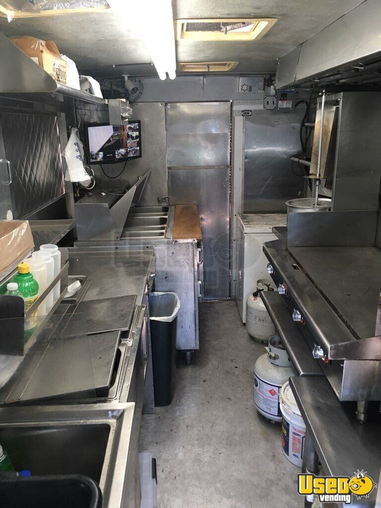 1984 Chevy P30 All-purpose Food Truck Fryer New Jersey Gas Engine for Sale - 11