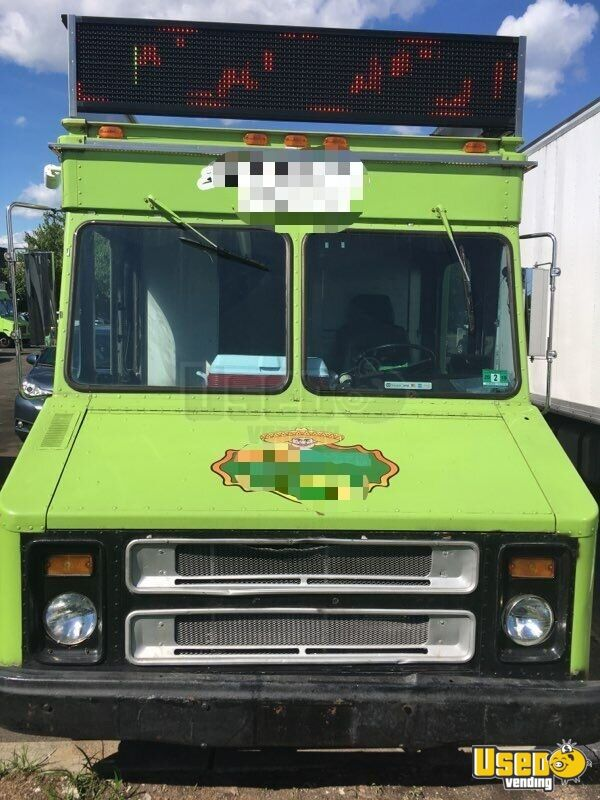 1984 Chevy P30 All-purpose Food Truck Prep Station Cooler New Jersey Gas Engine for Sale - 9