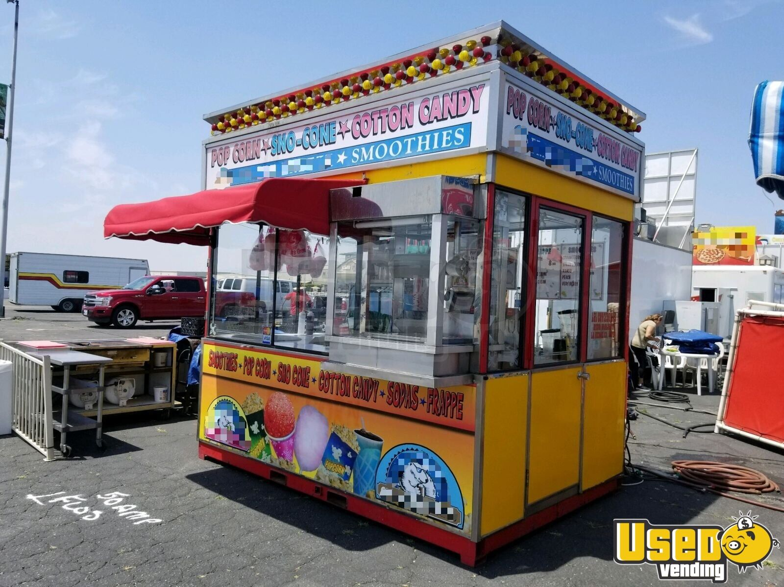 7 X 8 Food Concession Stand Used Festival Trailer For In California