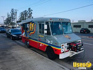 1984 P30 Step Van Espresso Coffee Truck Coffee & Beverage Truck California Gas Engine for Sale