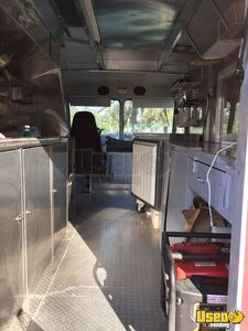 1984 P30 Step Van Espresso Coffee Truck Coffee & Beverage Truck Stainless Steel Wall Covers California Gas Engine for Sale