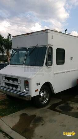 Chevy Food Truck for Sale in California!!!