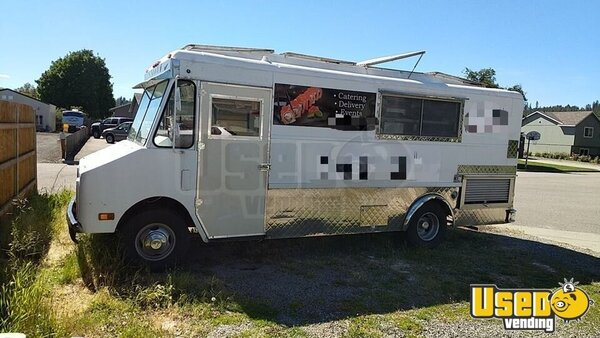 1985 Chevy P30 Strpvan All-purpose Food Truck Washington Gas Engine for Sale