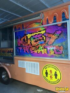1985 Commercial Ice Cream Truck Ice Cream Truck Cabinets California Diesel Engine for Sale