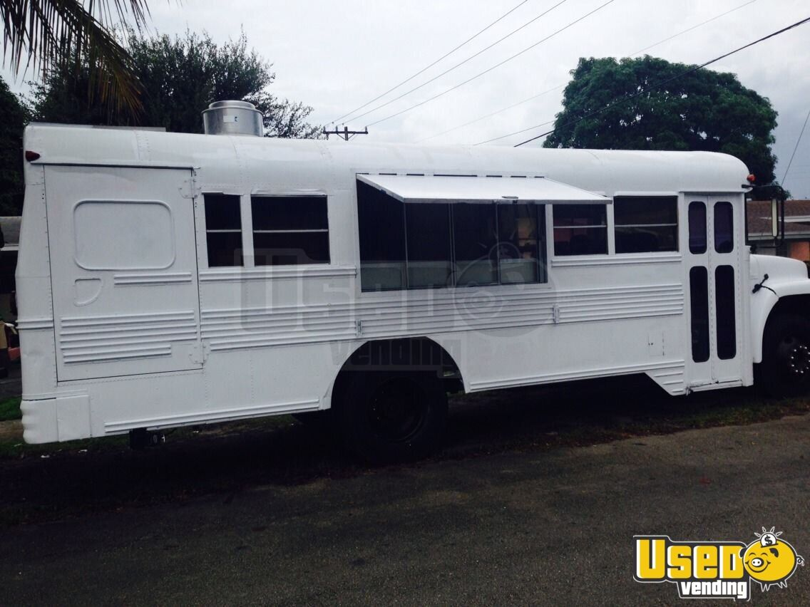 Food Truck Bus Mobile Kitchen For Sale In Florida