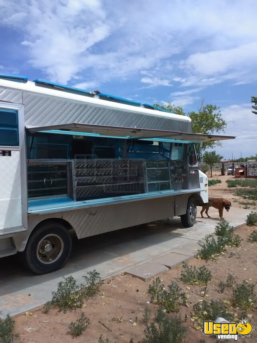 1985 P30 All-purpose Food Truck Stainless Steel Wall Covers New Mexico Gas Engine for Sale - 6