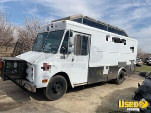 1985 Step Van Food Truck All-purpose Food Truck Cabinets California Gas Engine for Sale