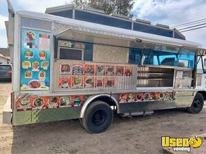 1985 Step Van Food Truck All-purpose Food Truck California Gas Engine for Sale
