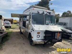 1985 Step Van Food Truck All-purpose Food Truck Stainless Steel Wall Covers California Gas Engine for Sale