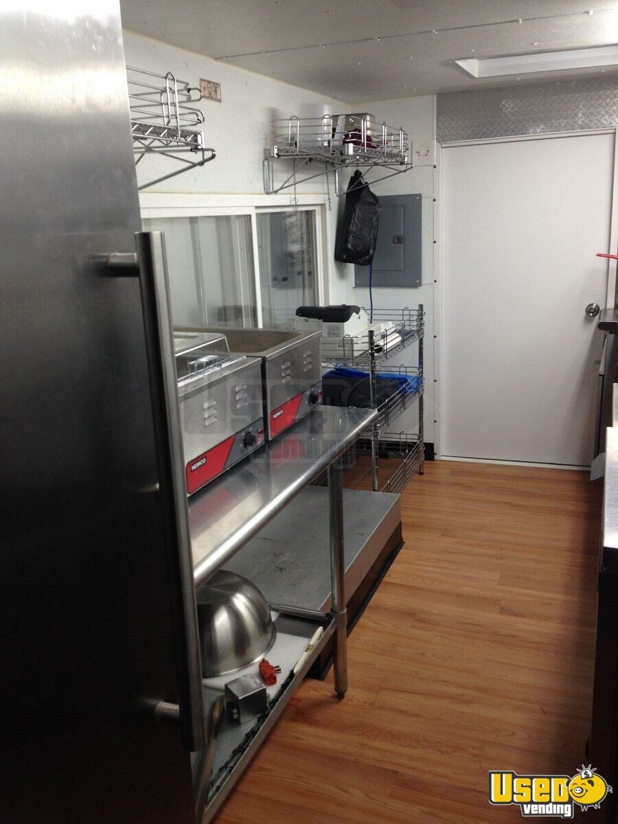 1985 Step Van Kitchen Food Truck All-purpose Food Truck Flatgrill Ohio Gas Engine for Sale - 10