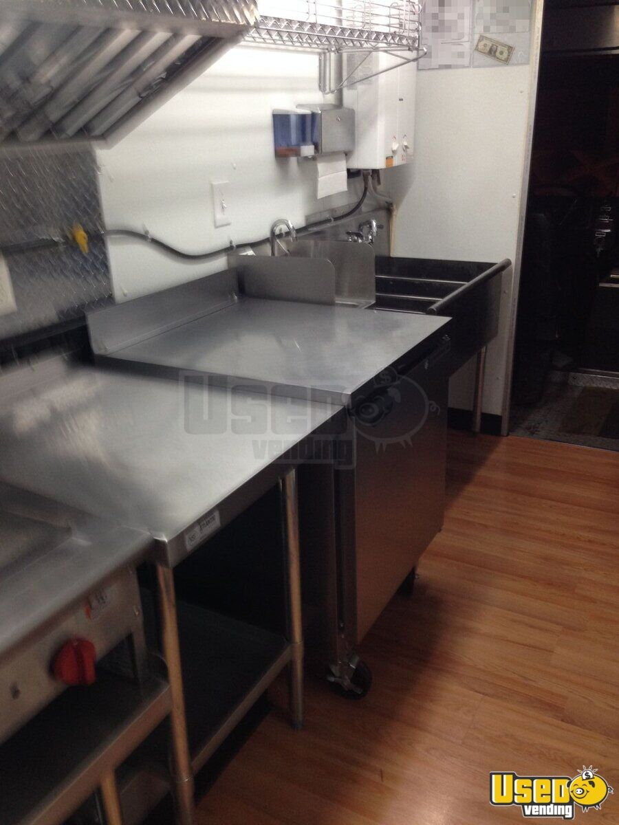 1985 Step Van Kitchen Food Truck All-purpose Food Truck Fryer Ohio Gas Engine for Sale - 11