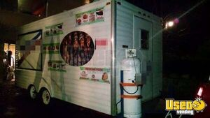 1986 All-purpose Food Trailer Diamond Plated Aluminum Flooring New Jersey for Sale