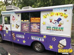 1986 Econoline Ice Cream Truck Ice Cream Truck Air Conditioning New York Gas Engine for Sale