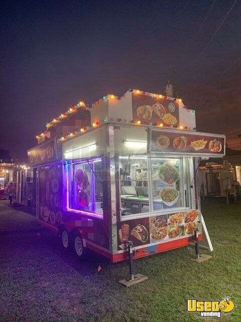 1986 Food Concession Trailer Kitchen Food Trailer Connecticut for Sale