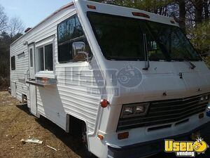 1986 Georgie Boy Stream Air 2 All-purpose Food Truck Concession Window Maine Gas Engine for Sale