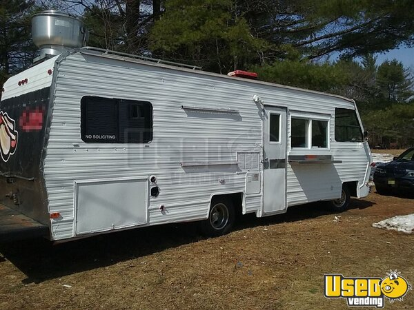 1986 Georgie Boy Stream Air 2 All-purpose Food Truck Maine Gas Engine for Sale