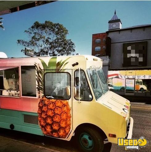 1986 Gmc Stepvan Food Truck Concession Window California Diesel Engine for Sale - 2