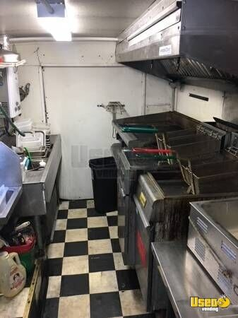 1986 P30 Step Van Kitchen Food Truck All-purpose Food Truck Deep Freezer Florida Diesel Engine for Sale - 5