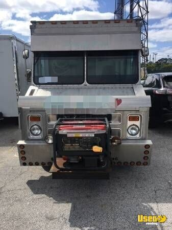1986 P30 Step Van Kitchen Food Truck All-purpose Food Truck Generator Florida Diesel Engine for Sale - 3