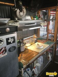 1987 Barbecue Food Truck Barbecue Food Truck Exhaust Hood Texas Diesel Engine for Sale