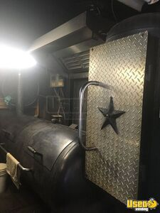 1987 Barbecue Food Truck Barbecue Food Truck Gray Water Tank Texas Diesel Engine for Sale