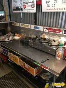 1987 Barbecue Food Truck Barbecue Food Truck Microwave Texas Diesel Engine for Sale