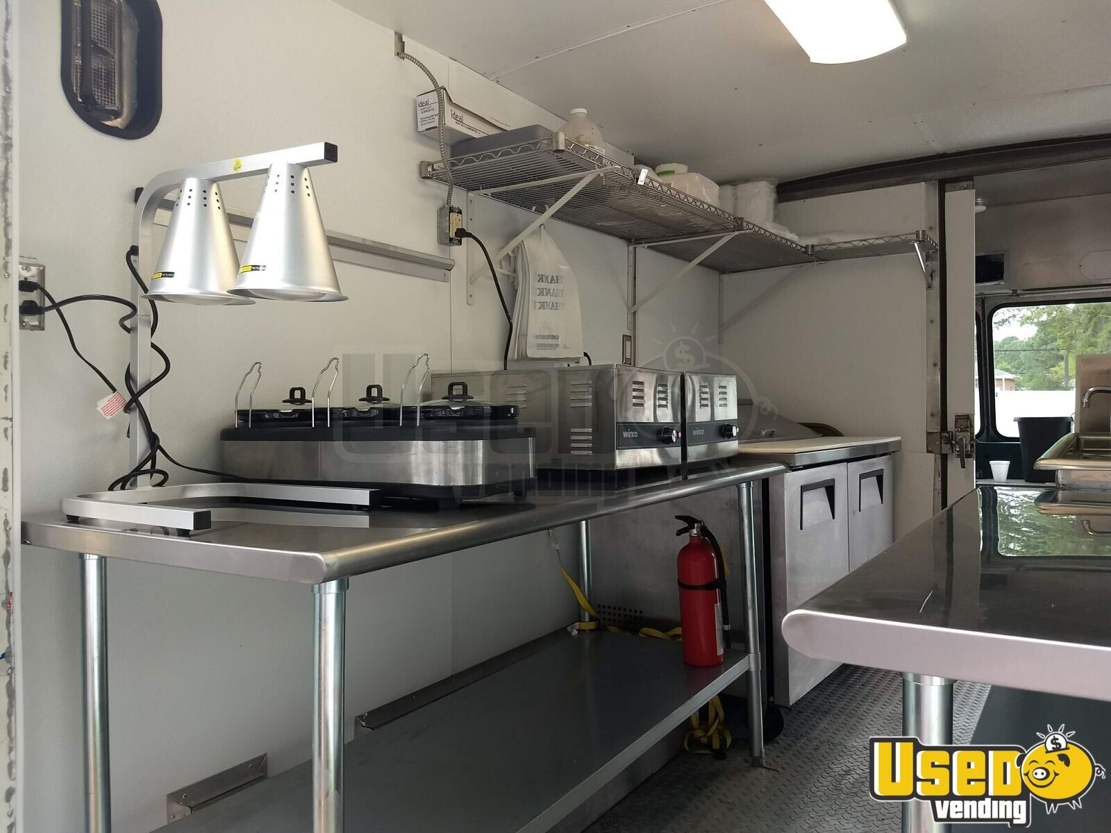 1987 Chev P-30 Food Truck Exterior Customer Counter Virginia Diesel Engine for Sale - 6