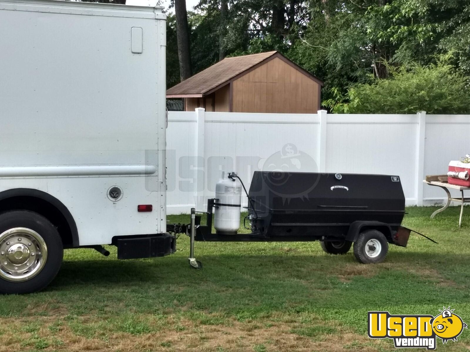 1987 Chev P-30 Food Truck Removable Trailer Hitch Virginia Diesel Engine for Sale - 3