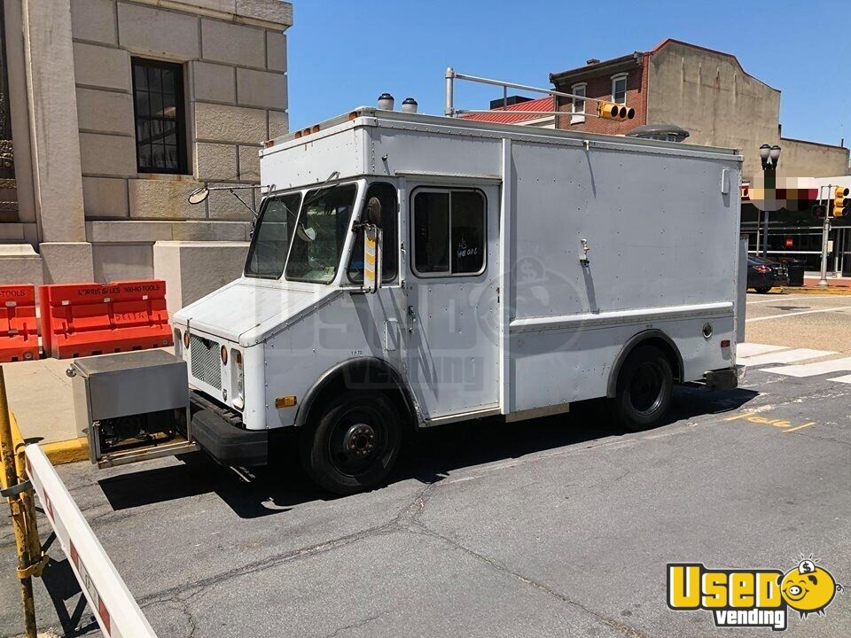 1987 Chevy Grumman All-purpose Food Truck Concession Window New Jersey Diesel Engine for Sale - 2