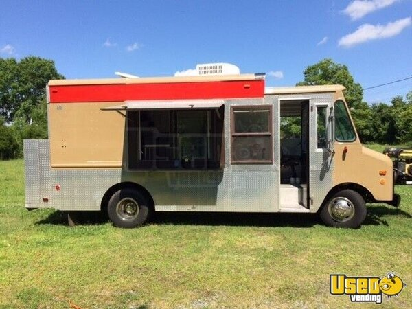 1987 Chevy P30 1 Ton Step Van Food Truck North Carolina Gas Engine for Sale