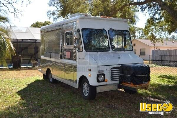 1987 Ford Econoline Food Truck Florida Gas Engine for Sale