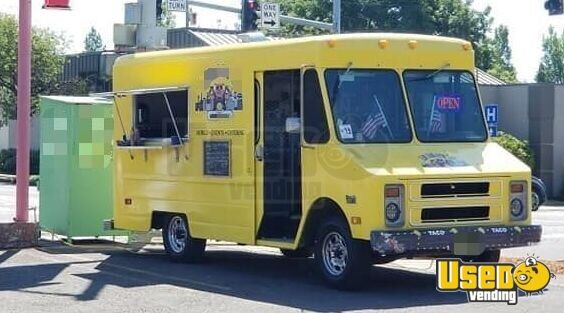 1987 P30 All-purpose Food Truck Chargrill Oregon Gas Engine for Sale - 10