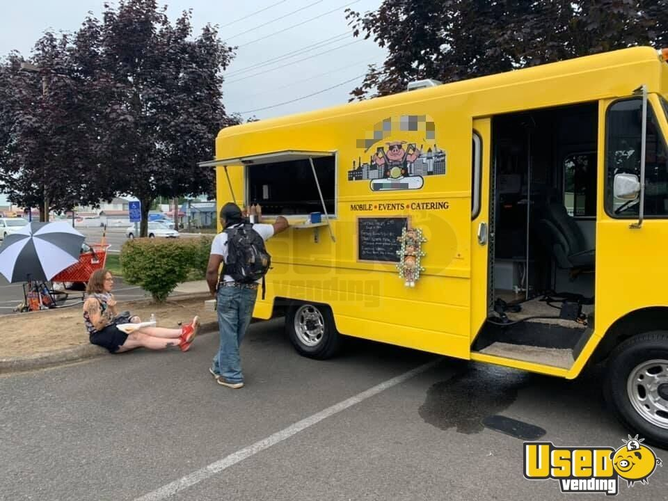 1987 P30 All-purpose Food Truck Exhaust Fan Oregon Gas Engine for Sale - 13