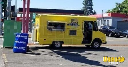 1987 P30 All-purpose Food Truck Exhaust Hood Oregon Gas Engine for Sale - 12