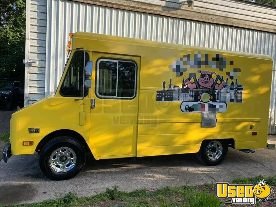 1987 P30 All-purpose Food Truck Exterior Customer Counter Oregon Gas Engine for Sale - 5