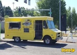 1987 P30 All-purpose Food Truck Flatgrill Oregon Gas Engine for Sale