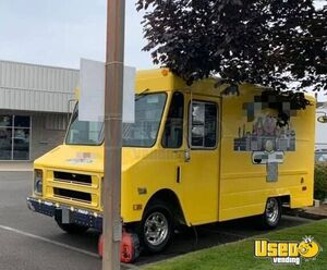 1987 P30 All-purpose Food Truck Prep Station Cooler Oregon Gas Engine for Sale