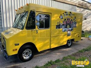 1987 P30 All-purpose Food Truck Stainless Steel Wall Covers Oregon Gas Engine for Sale
