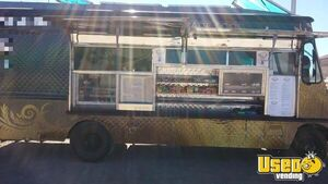 1987 Step Van Kitchen Food Truck All-purpose Food Truck New Mexico Gas Engine for Sale